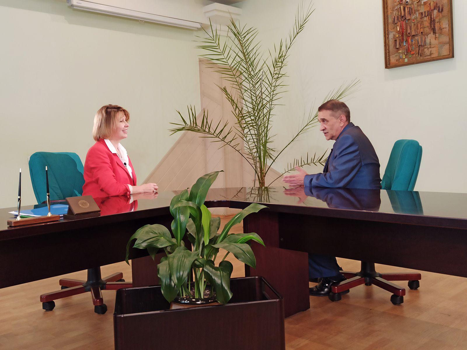 Ректор ВГУЭС Татьяна Терентьева в эфире телеканала Россия 24