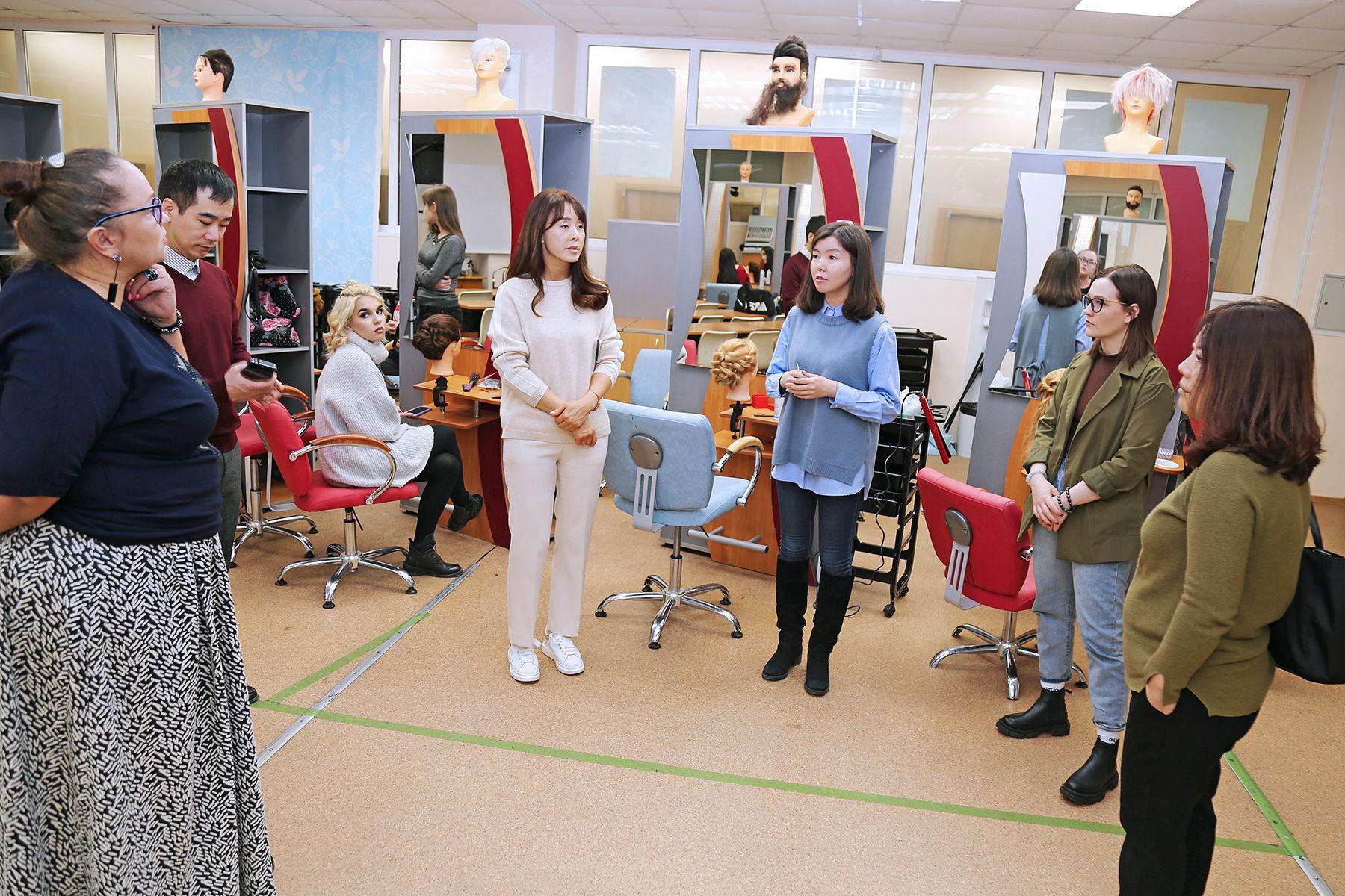 Университет Хосан (Республика Корея) выступил с инициативой налаживания партнерских отношений с Колледжем индустрии моды и красоты ВГУЭС