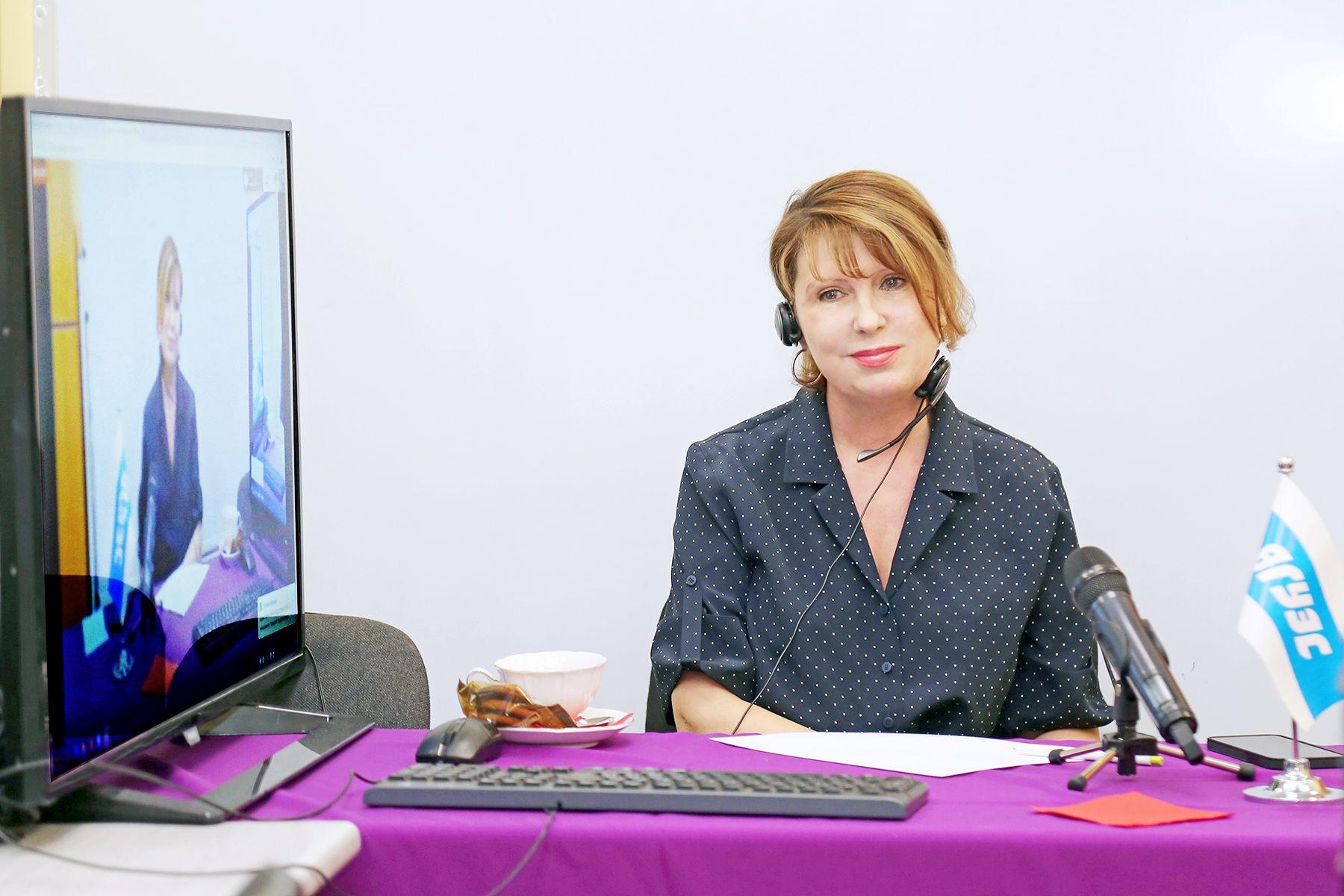 Ректор ВГУЭС Татьяна Терентьева провела открытый онлайн прием для студентов, абитуриентов и родителей