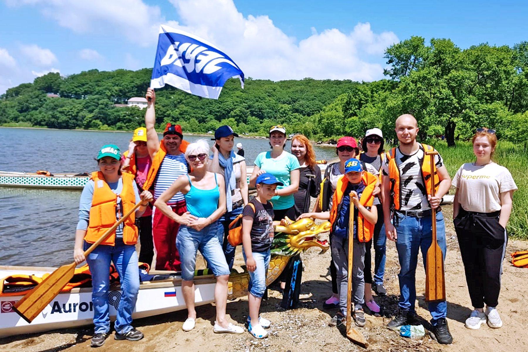 Выходные на «драконах»: коллектив ВГУЭС дружно отдыхает на море