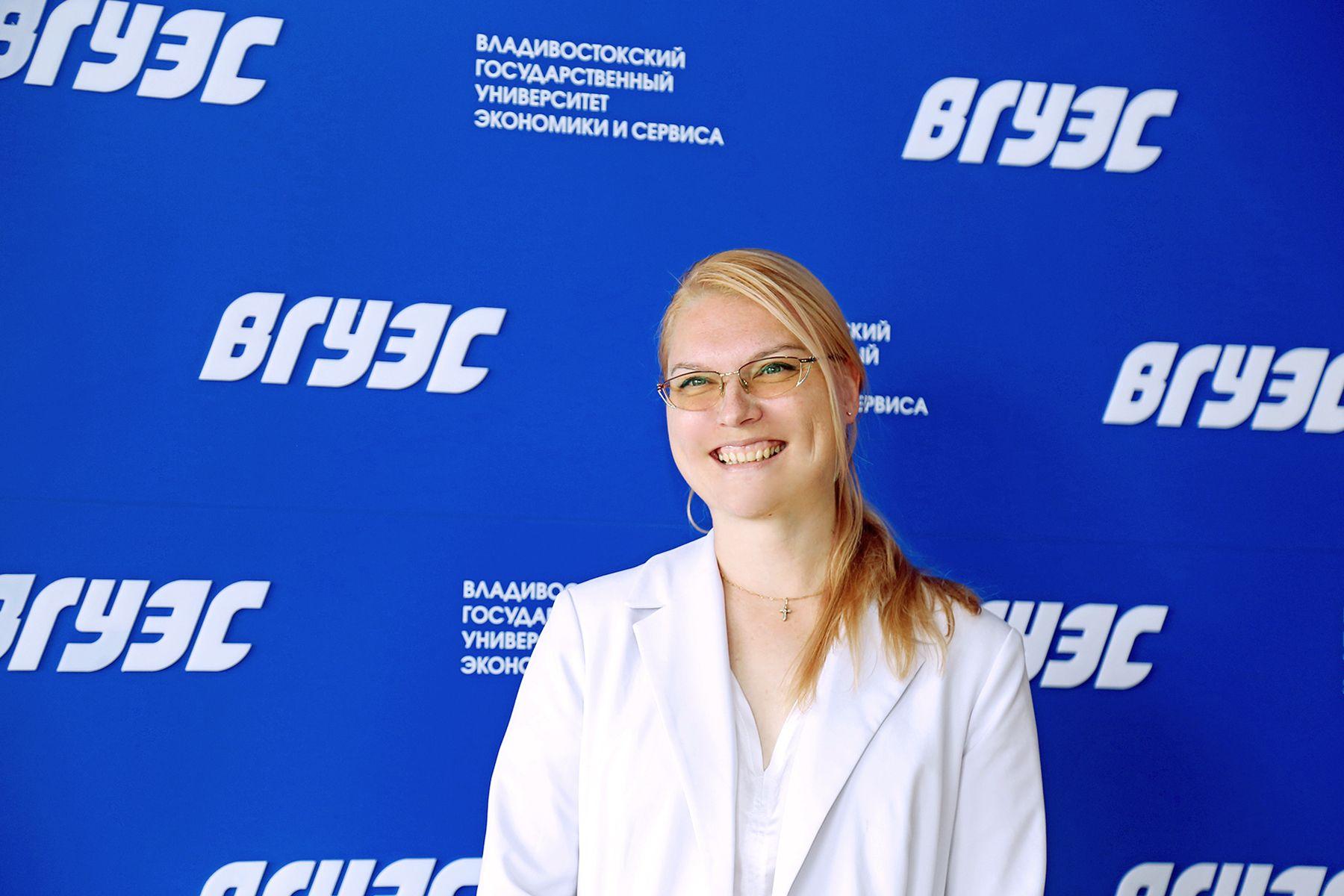 Преподаватель ВГУЭС Екатерина Данилина — лауреат IX Всероссийского конкурса инновационных образовательных технологий «Лучший молодой преподаватель - 2021»