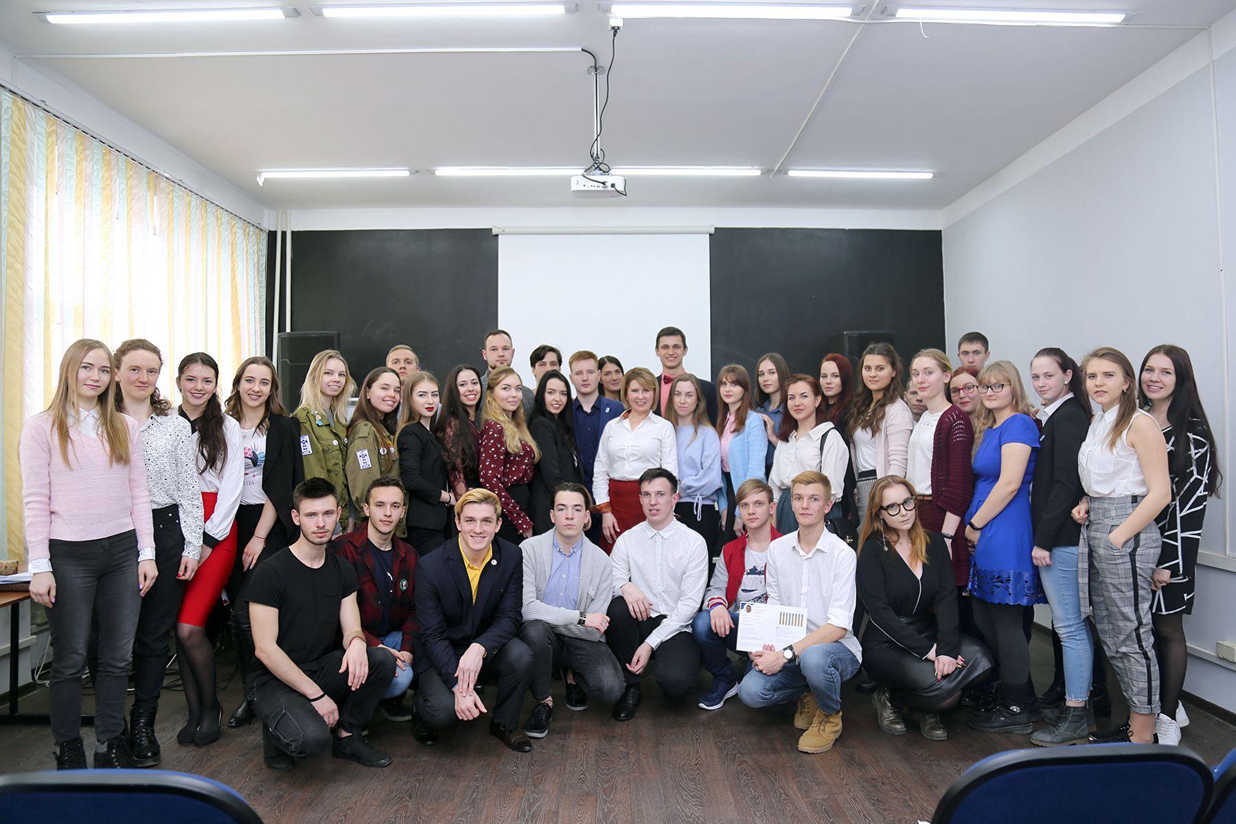 Лучших студентов университета отметила ректор ВГУЭС Татьяна Терентьева