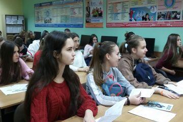 Встреча-профориентация школьников СОШ 62 г. Владивосток