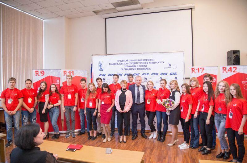 Подведены итоги вузовского отборочного чемпионата WorldSkills