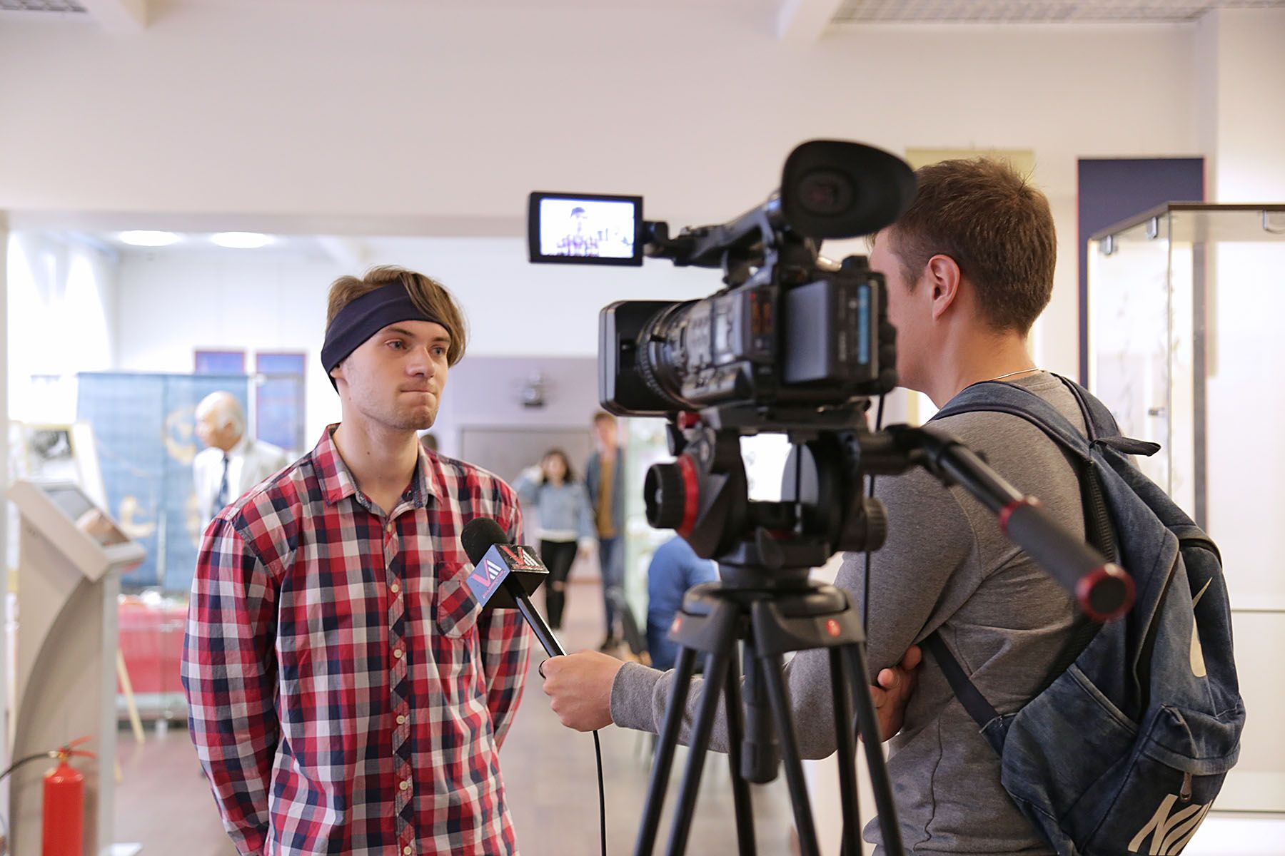 Выпускники Высшей школы телевидения ВГУЭС снимают документальные фильмы для федеральных телеканалов