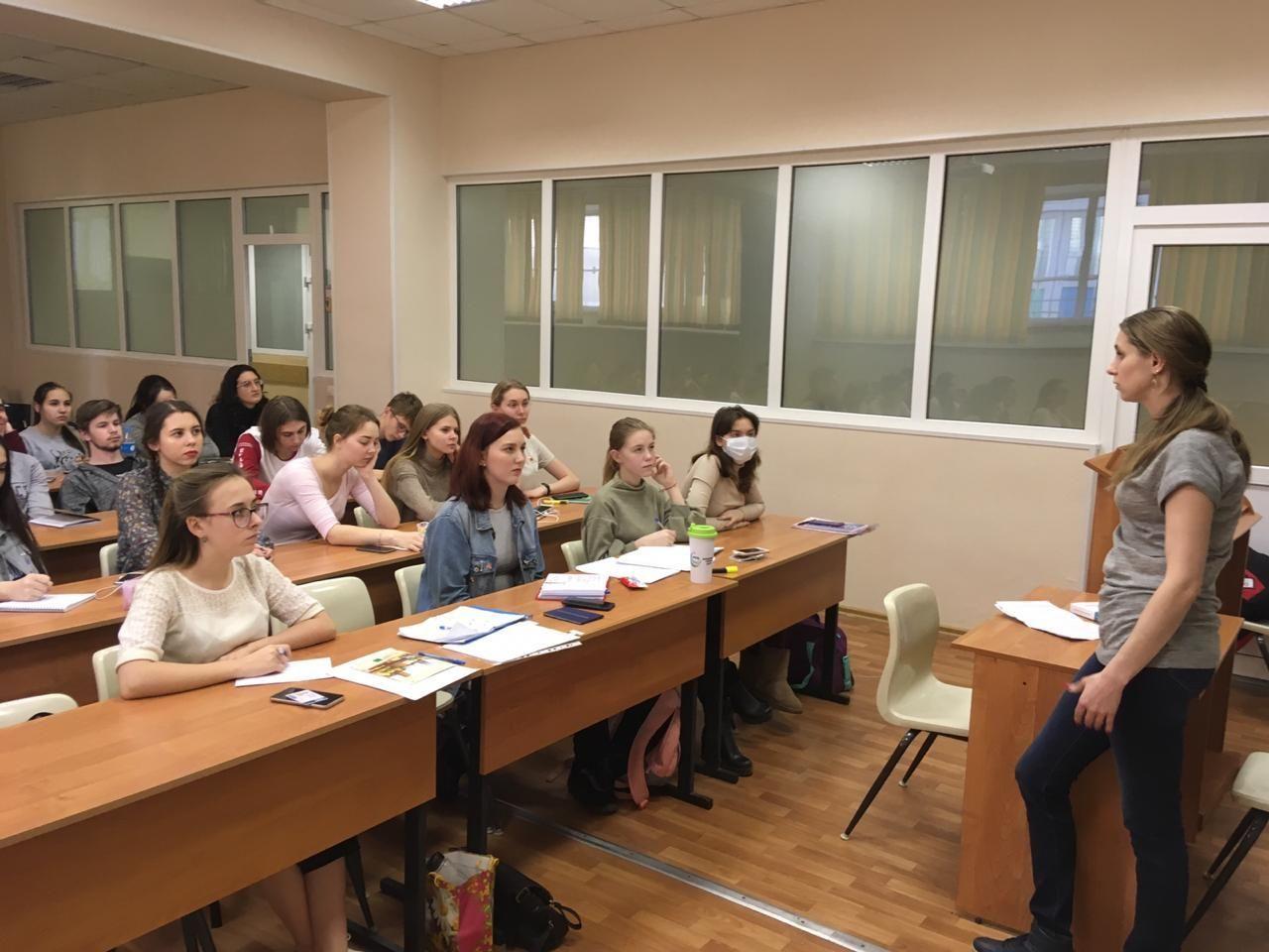 Приглашенный спикер посетил студентов МИТГ
