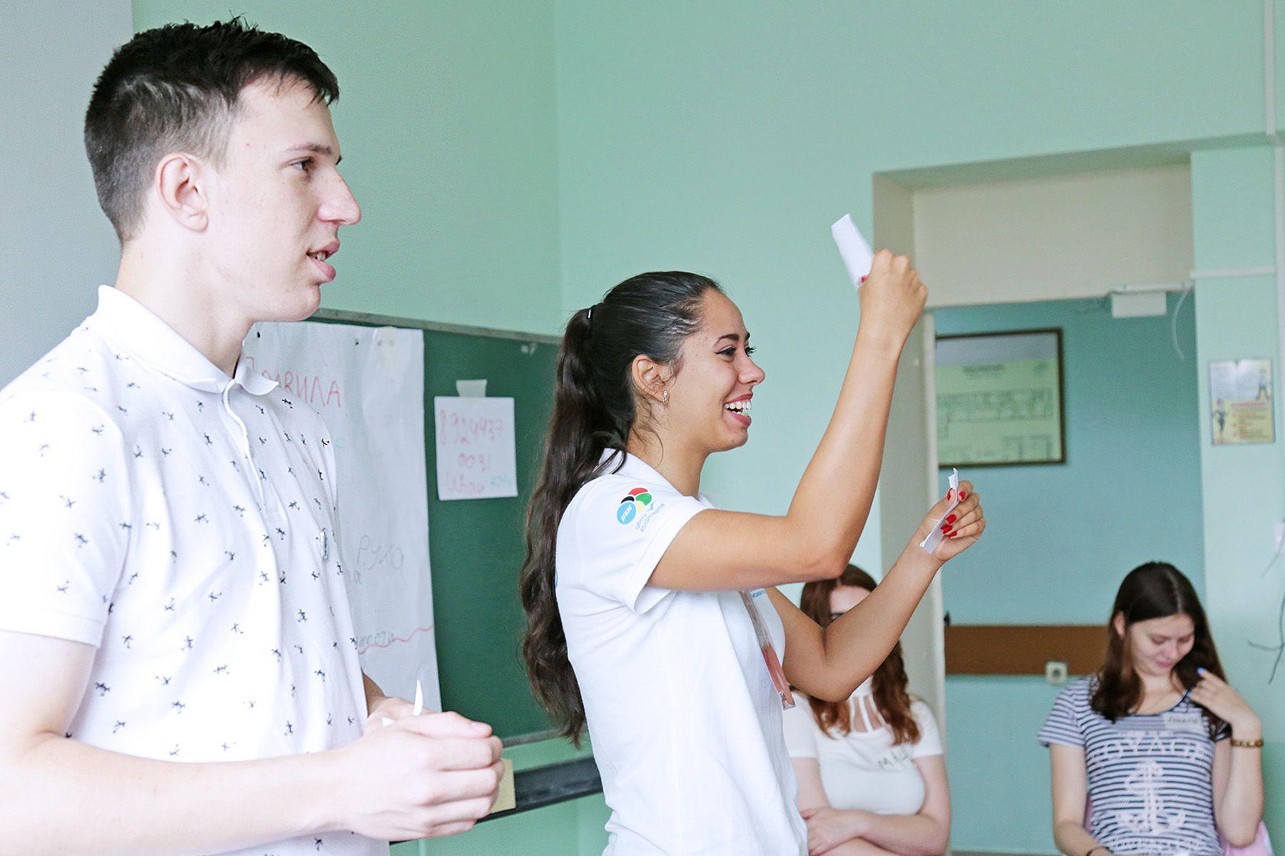 «Психология общения». Первокурсников сближают тренинги во ВГУЭС