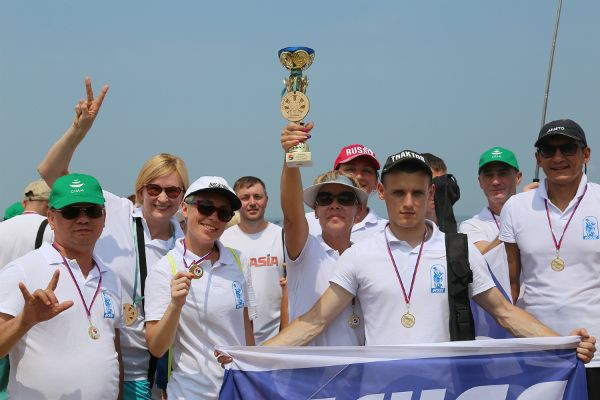 Кубок Korean Air: золотые весла команды ВГУЭС