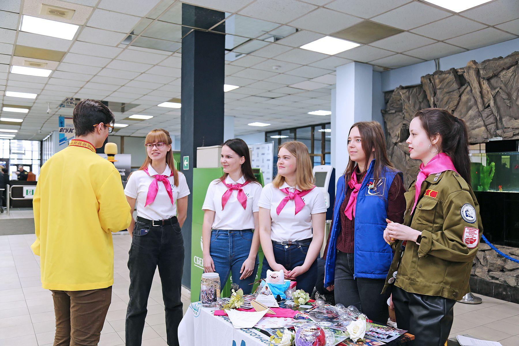 Студенческие отряды ВГУЭС приглашают новых участников