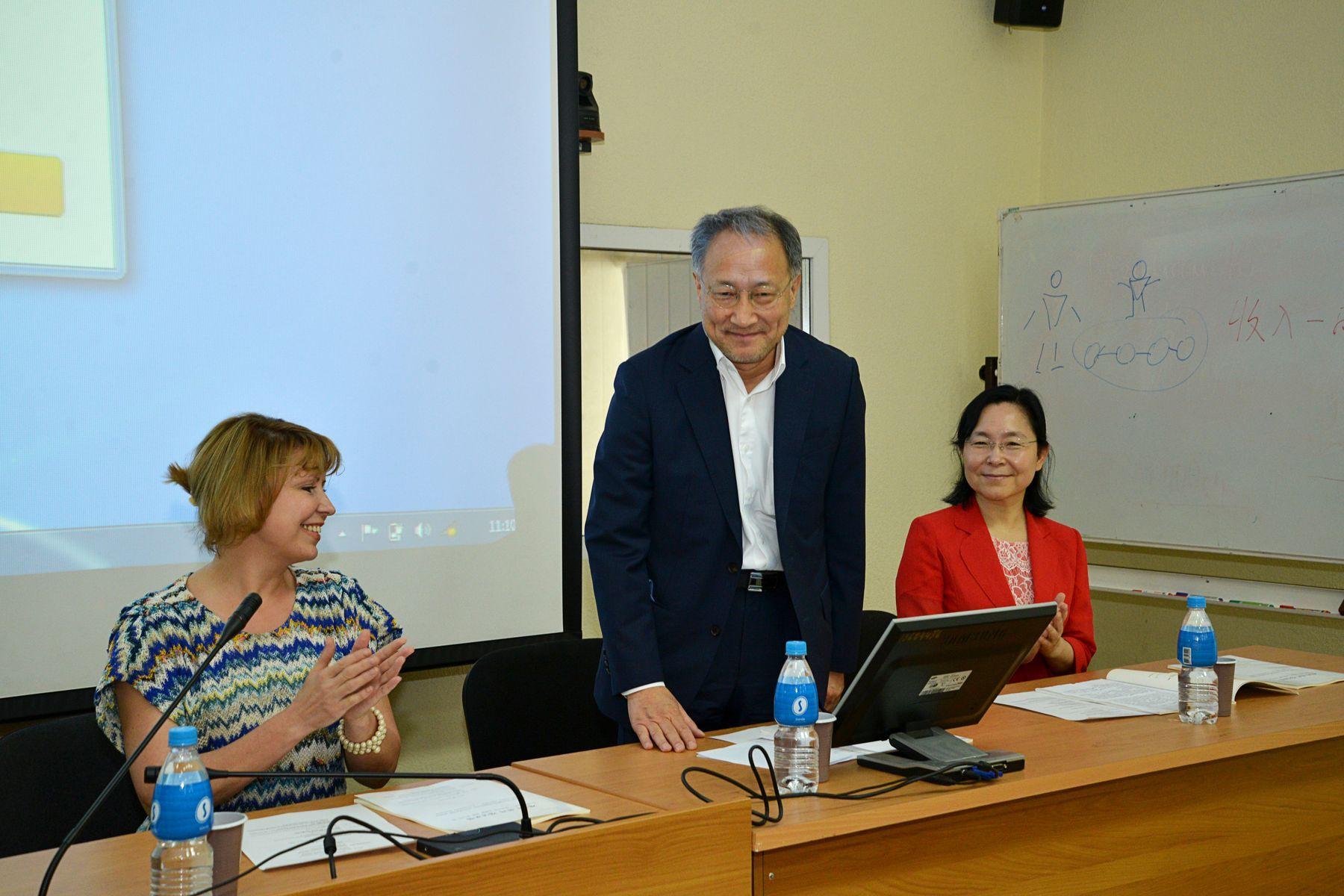 Первый российско-корейский молодёжный форум во ВГУЭС: «Две страны – один путь к успешному будущему»