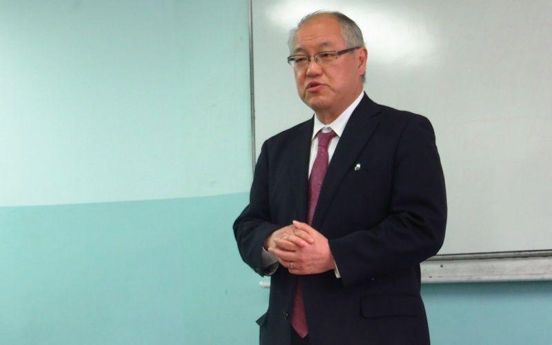 Генеральный консул Японии в г. Владивостоке прочитал лекцию для студентов ВГУЭС по вопросам риск-менеджмента