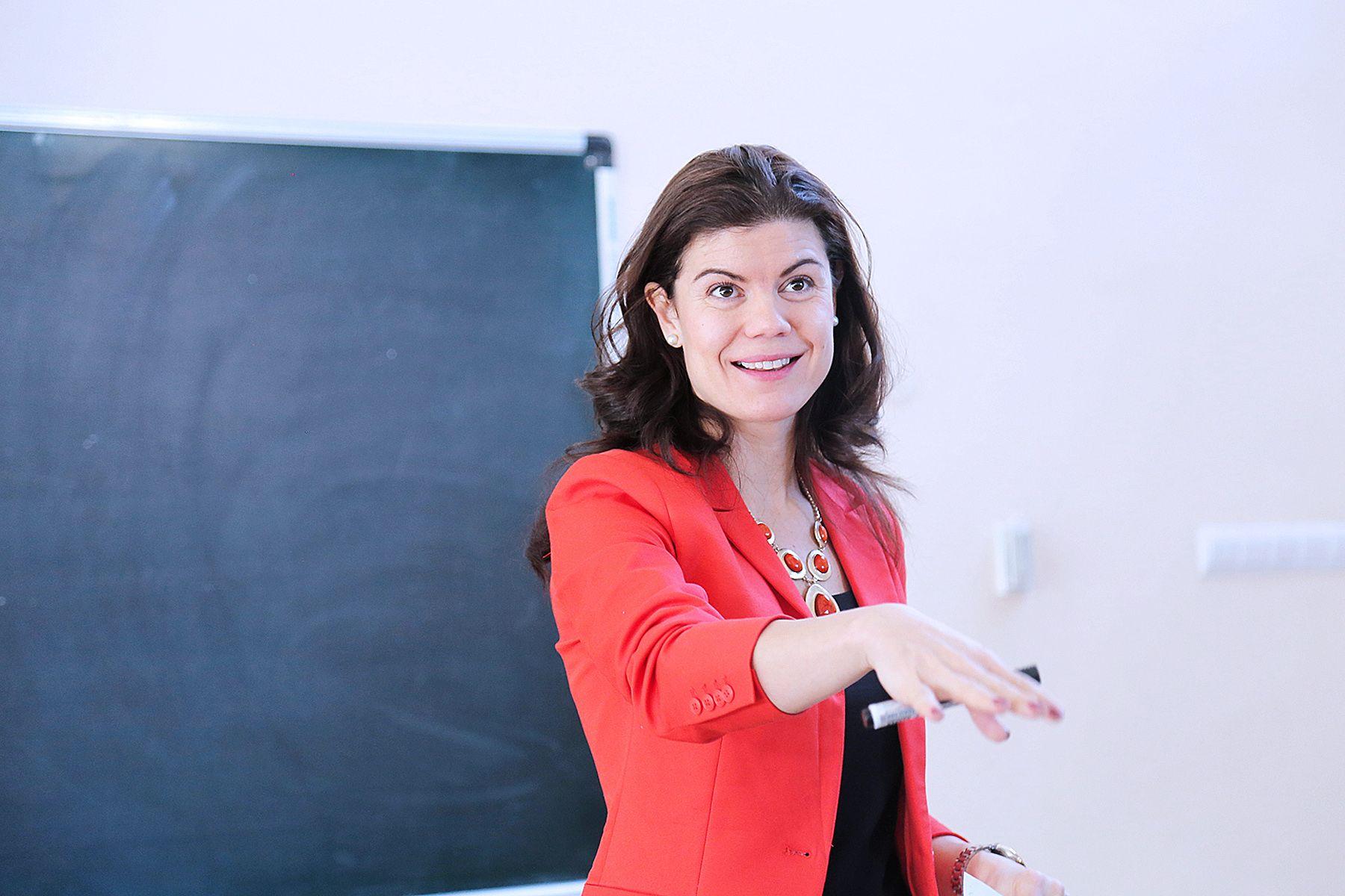 Ирина Эддайра, приглашенный спикер ВГУЭС: об успешном бизнесе и командной работе