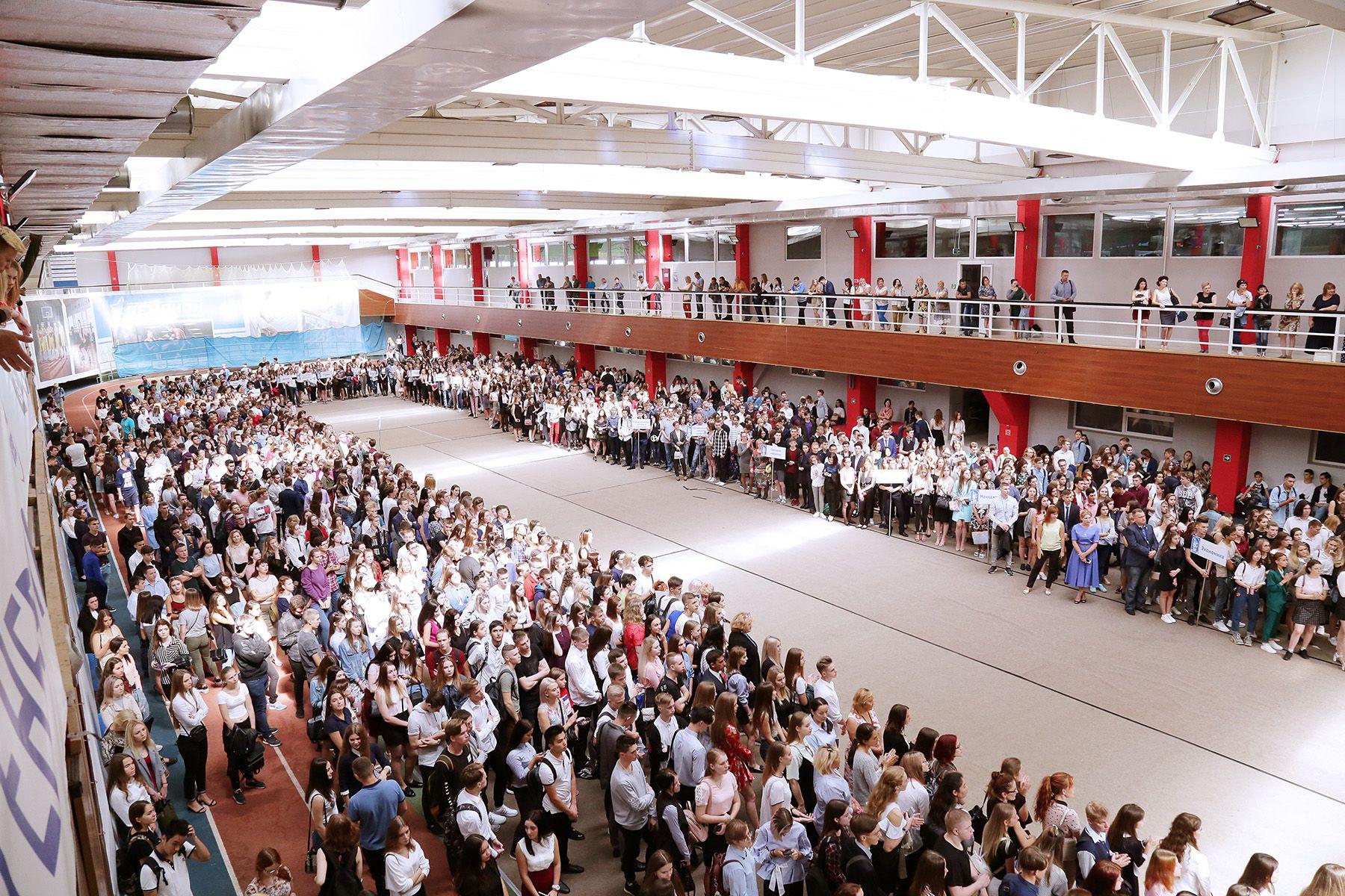 1 сентября во ВГУЭС: тысячи улыбок и новых лиц