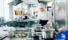 От закусок до десерта: во ВГУЭС начался демоэкзамен по стандартам WorldSkills по компетенции «Поварское дело»