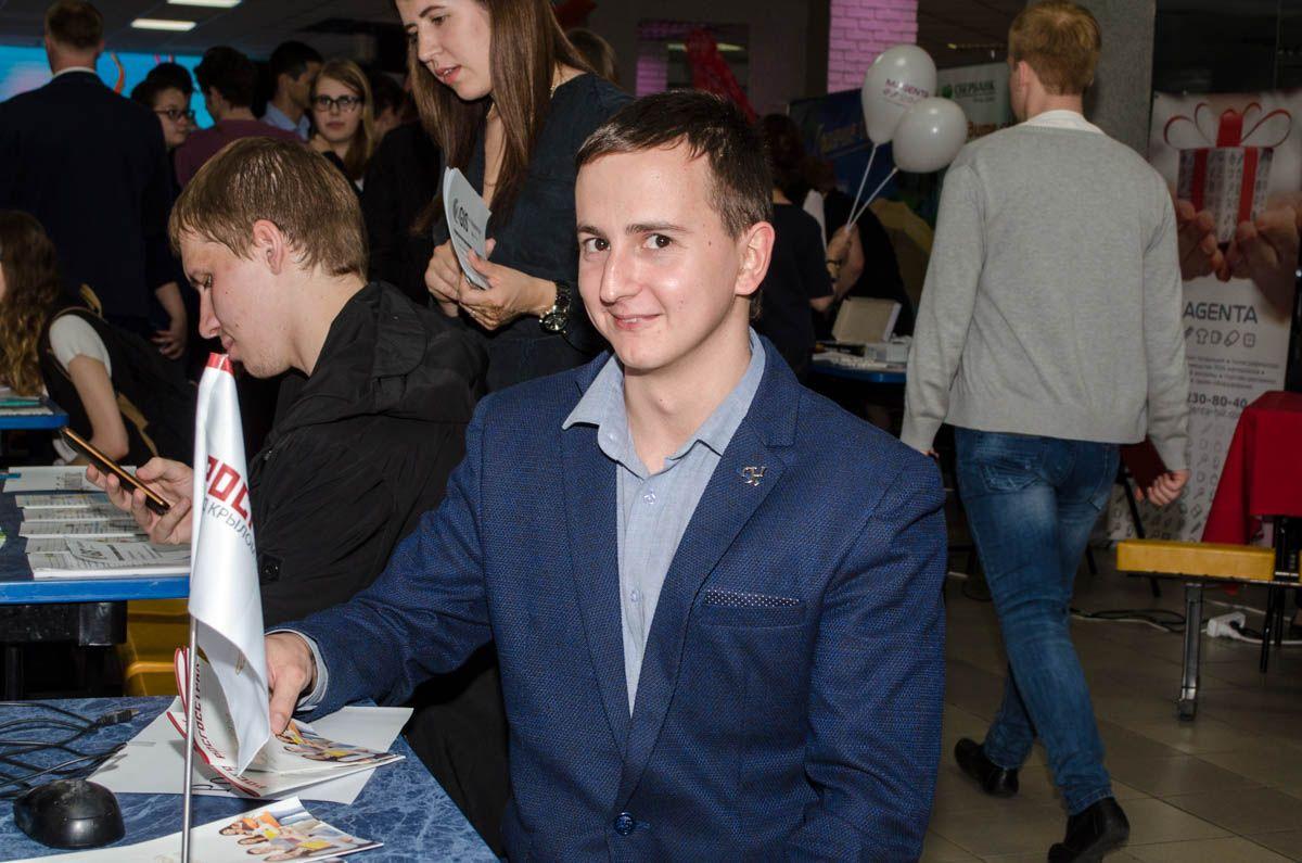 «Ночь карьеры» познакомила студентов ВГУЭС с работодателями