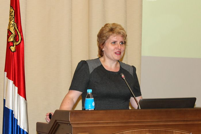 Диана Грудцына: «Академия профессионального роста ВГУЭС прошла общественную аккредитацию»