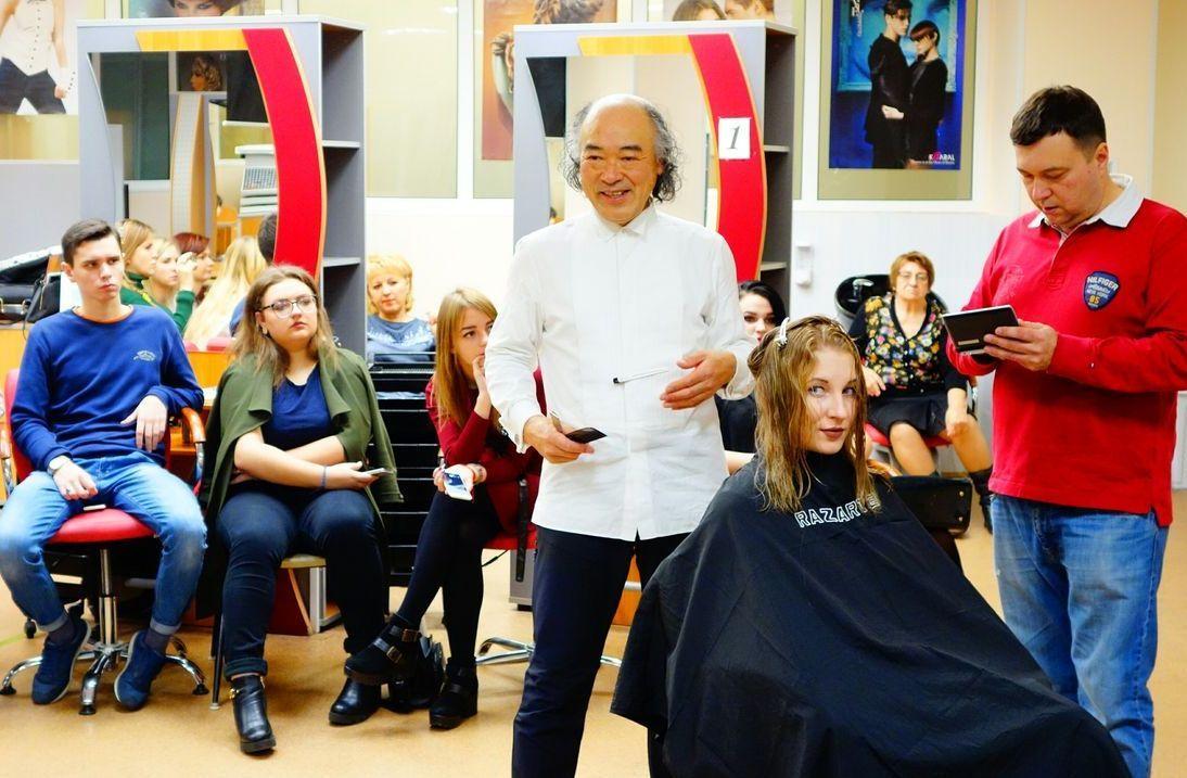 Впервые в России и во ВГУЭС стилист мирового уровня Хисахиро Ямамото