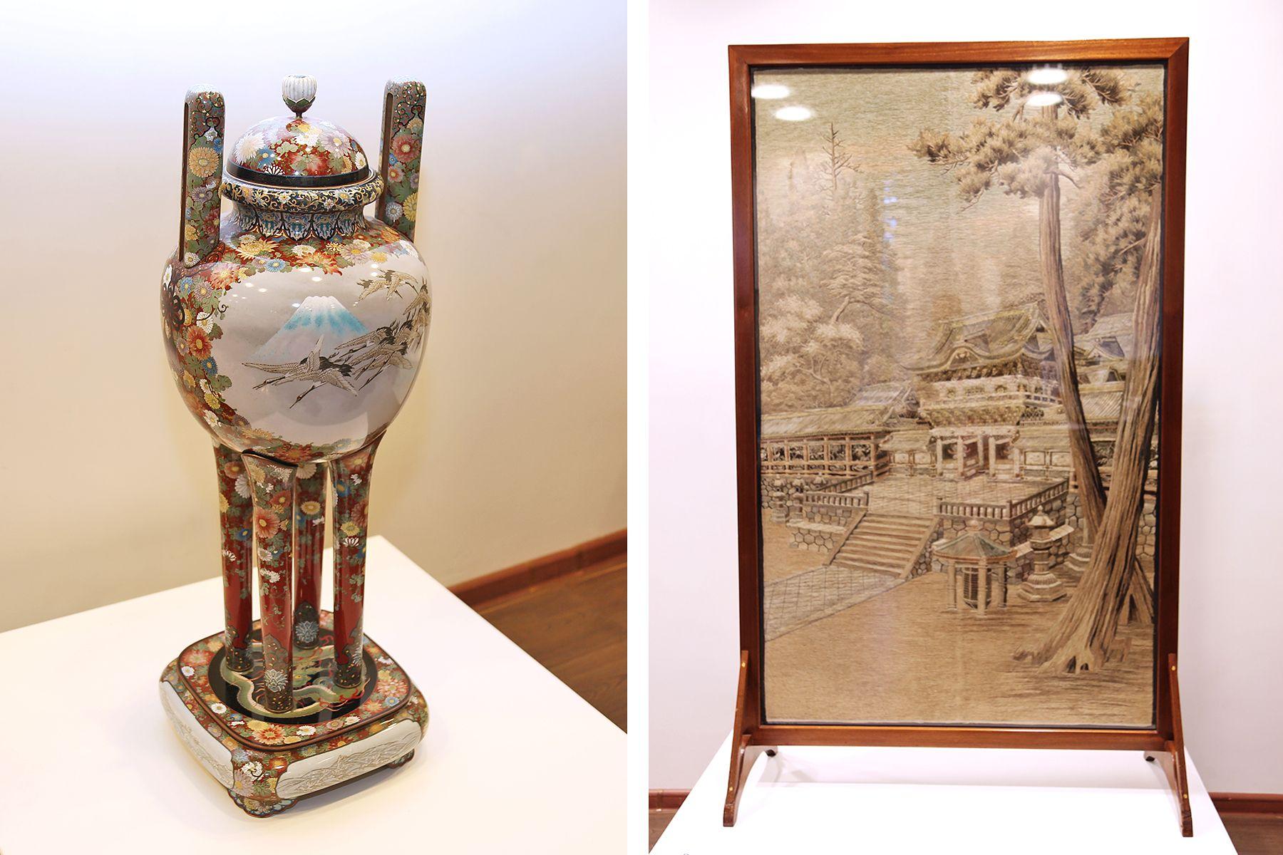 В Музее ВГУЭС открылась выставка «Филигранное мастерство Японии»