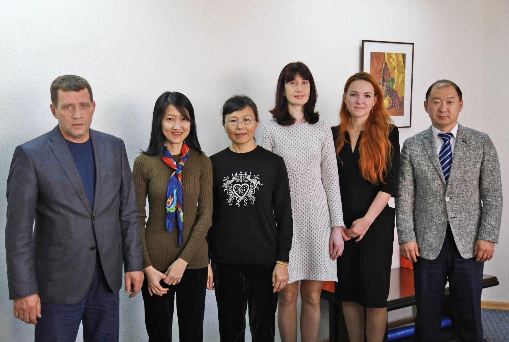 Новые перспективы сотрудничества ВГУЭС и Китайского университета культуры
