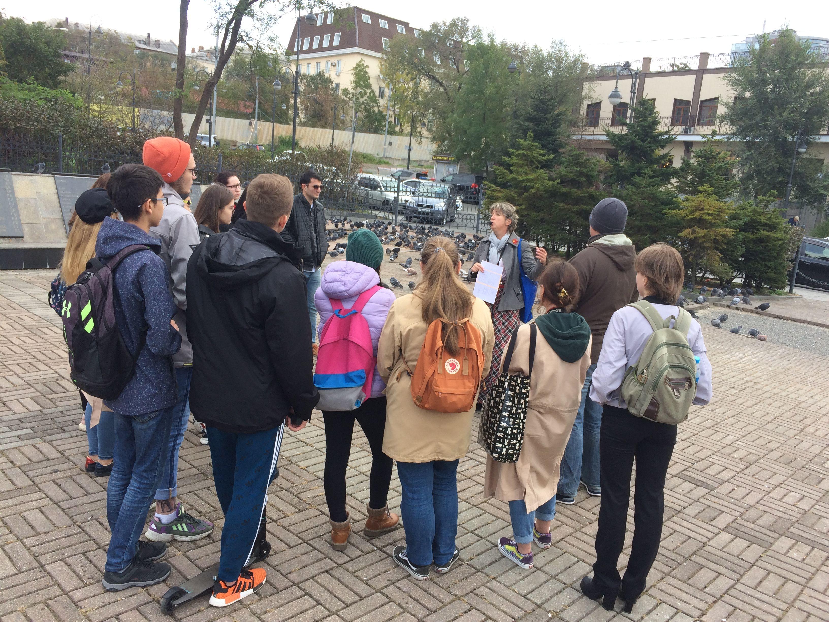 Экскурсия по кварталам Владивостокской Миллионки для студентов ВГУЭС