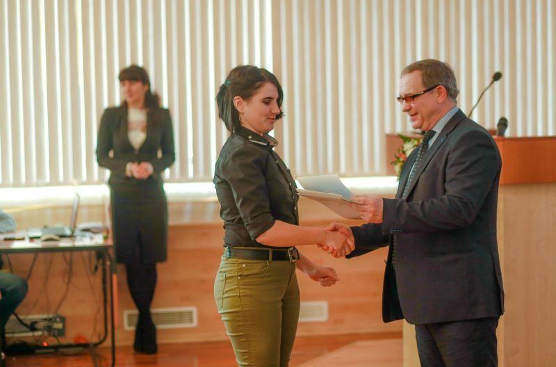 Кафедра поздравляет победительницу в конкурсе «Биткоин – валюта будущего»