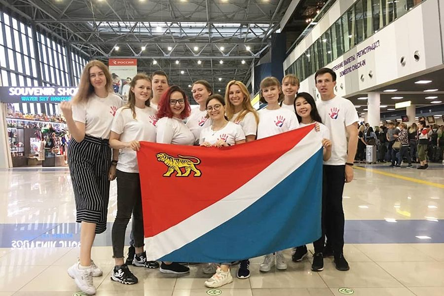 Волонтеры ВГУЭС на чемпионате Worldskills 2019 в Казани: рады, что стали частью события международного уровня