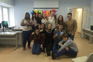 Иностранные студенты весело отметили Татьянин День, январь, 2016