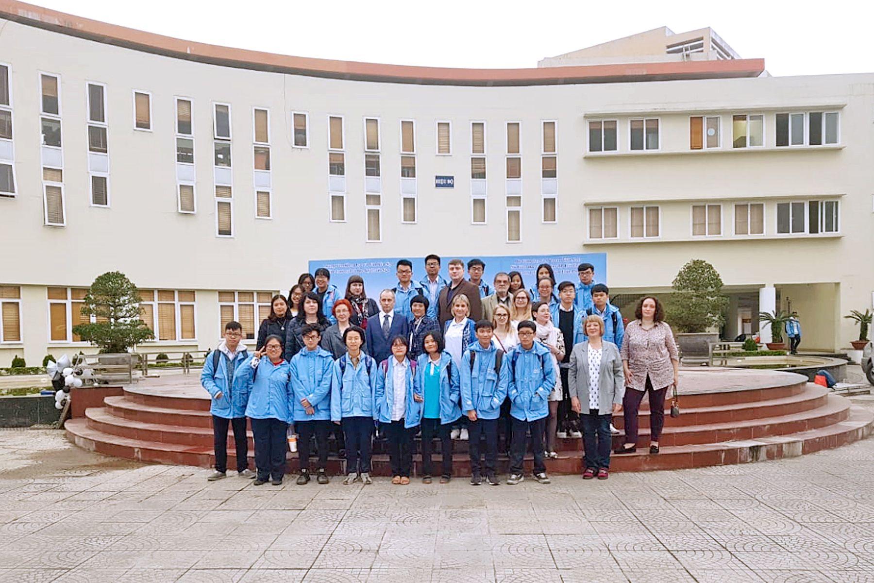 Делегация ВГУЭС во Вьетнаме: партнёрские отношения между университетами и продвижение русского языка