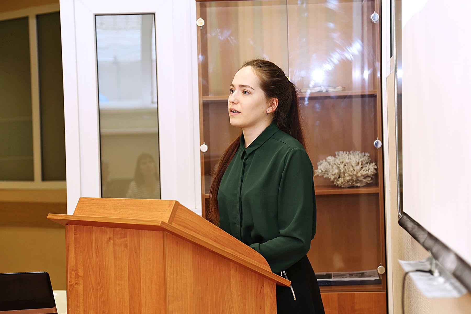 Студентка ВГУЭС предлагает модернизировать установки по очистке воздуха в судостроительной компании «Восточная верфь»