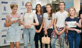 Первокурсники ВГУЭС встретились с ректором и президентом университета
