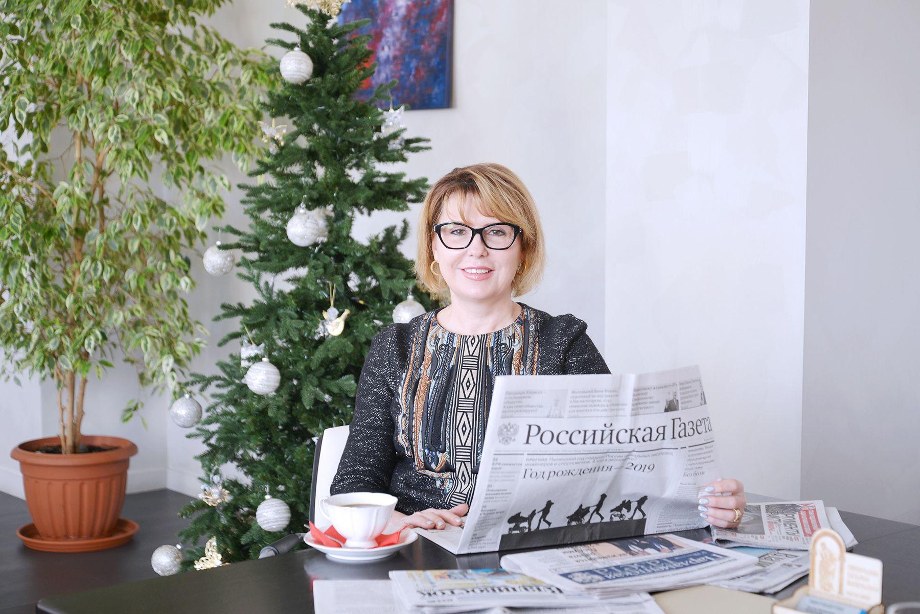 Поздравление ректора ВГУЭС Татьяны Терентьевой с днем российской печати