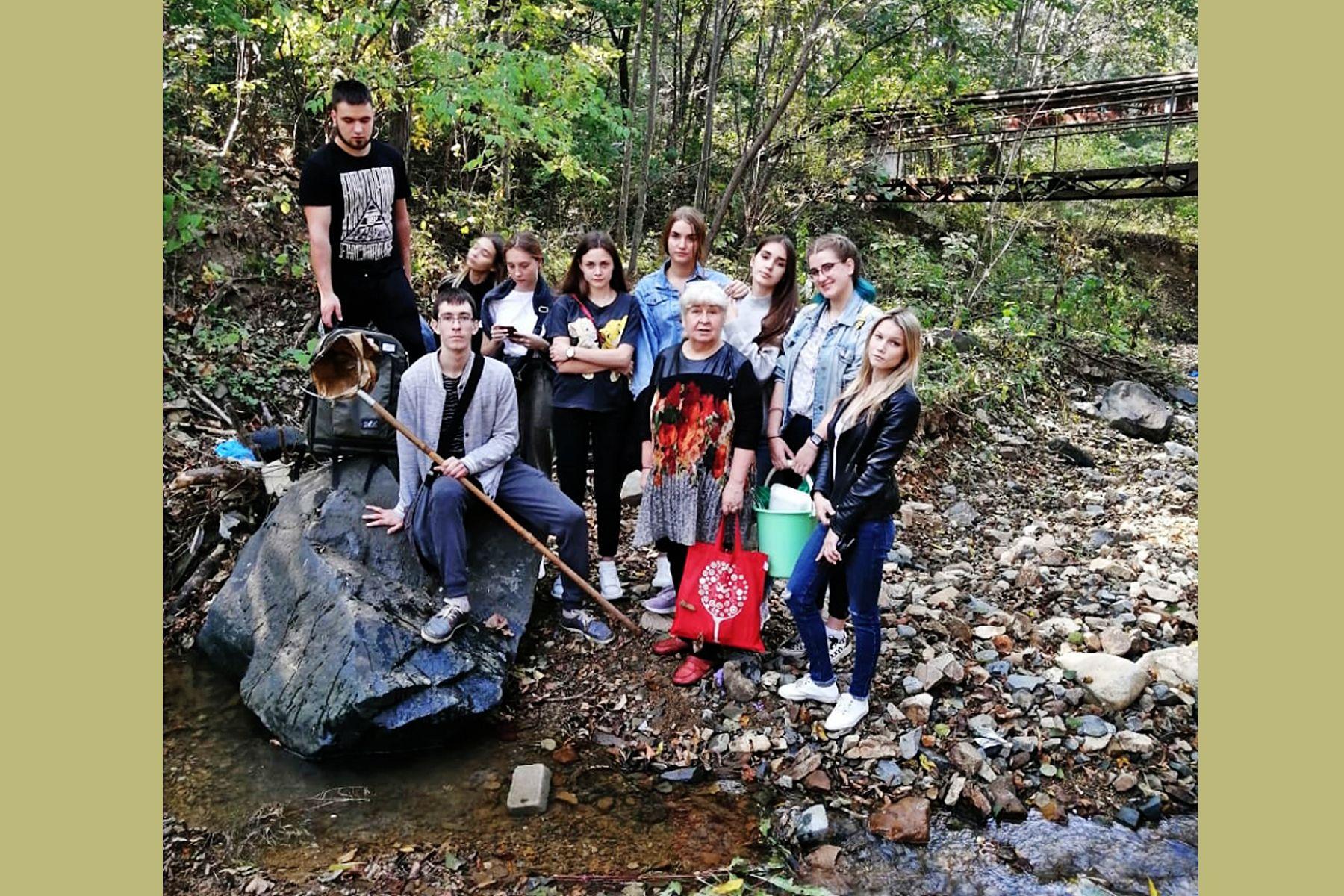 Научно-общественный проект «Ревитализация Второй Речки»: студенты ВГУЭС занимаются решением проблем загрязнения городских водотоков