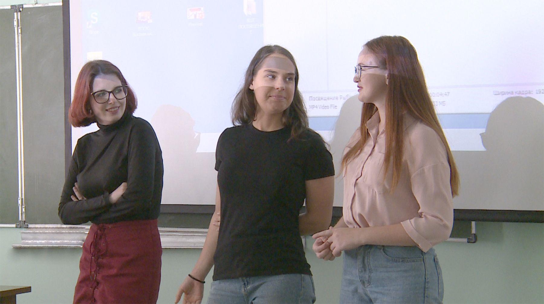 Первокурсников ВГУЭС торжественно посвятили в студенты Высшей школы телевидения