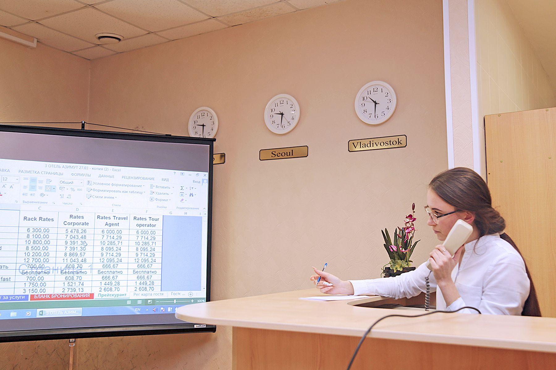 Студенты направления «Гостиничный сервис» филиала ВГУЭС в Артеме доказывают свой профессионализм