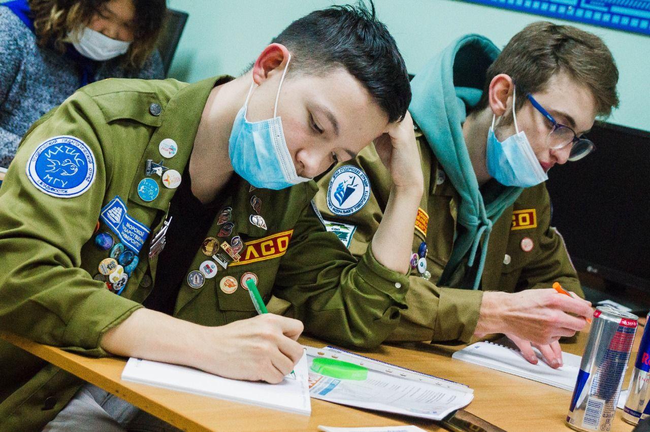 Участники добровольческих отрядов краевой акции «От мала до велика» прошли обучение азам профориентации в центре «Абитуриент»