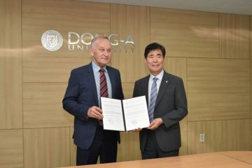 new eng_Signing of MOU between VSUES and Dong-A University (Busan, Republic of Korea)
