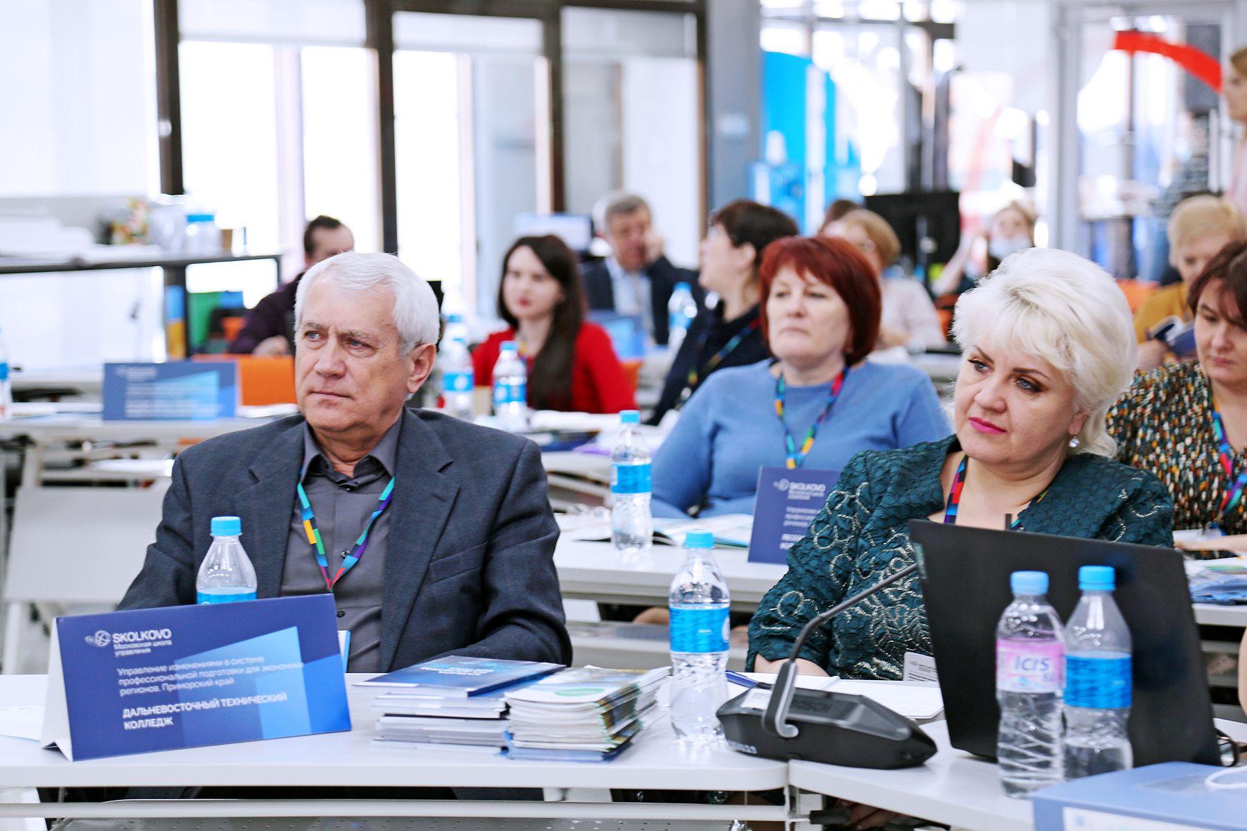 Четвертый модуль Международной программы Московской школы управления СКОЛКОВО во ВГУЭС: изменение в мышлении — изменения в результатах