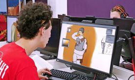 Участники компетенции «3D моделирование для компьютерных игр» IV вузовского отборочного чемпионата ВГУЭС по стандартам WorldSkills создают персонажа для популярного шутера