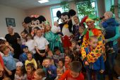 Студенты колледжа и института подарили маленьким жителям города Артема праздник