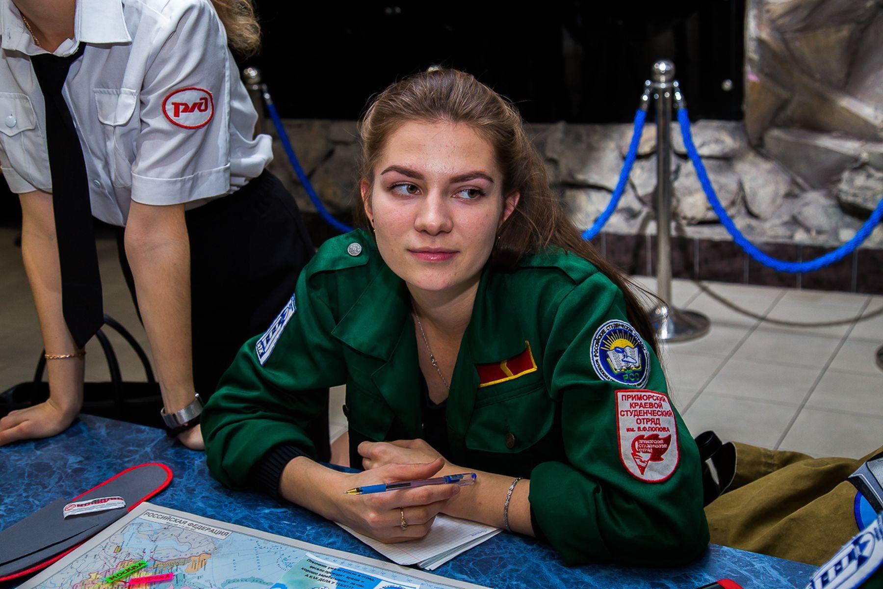 Студенческие отряды ВГУЭС приглашают студентов в свои ряды