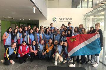 Студенты международники в университете Сонгюнгван (Сеул, Республика Корея)