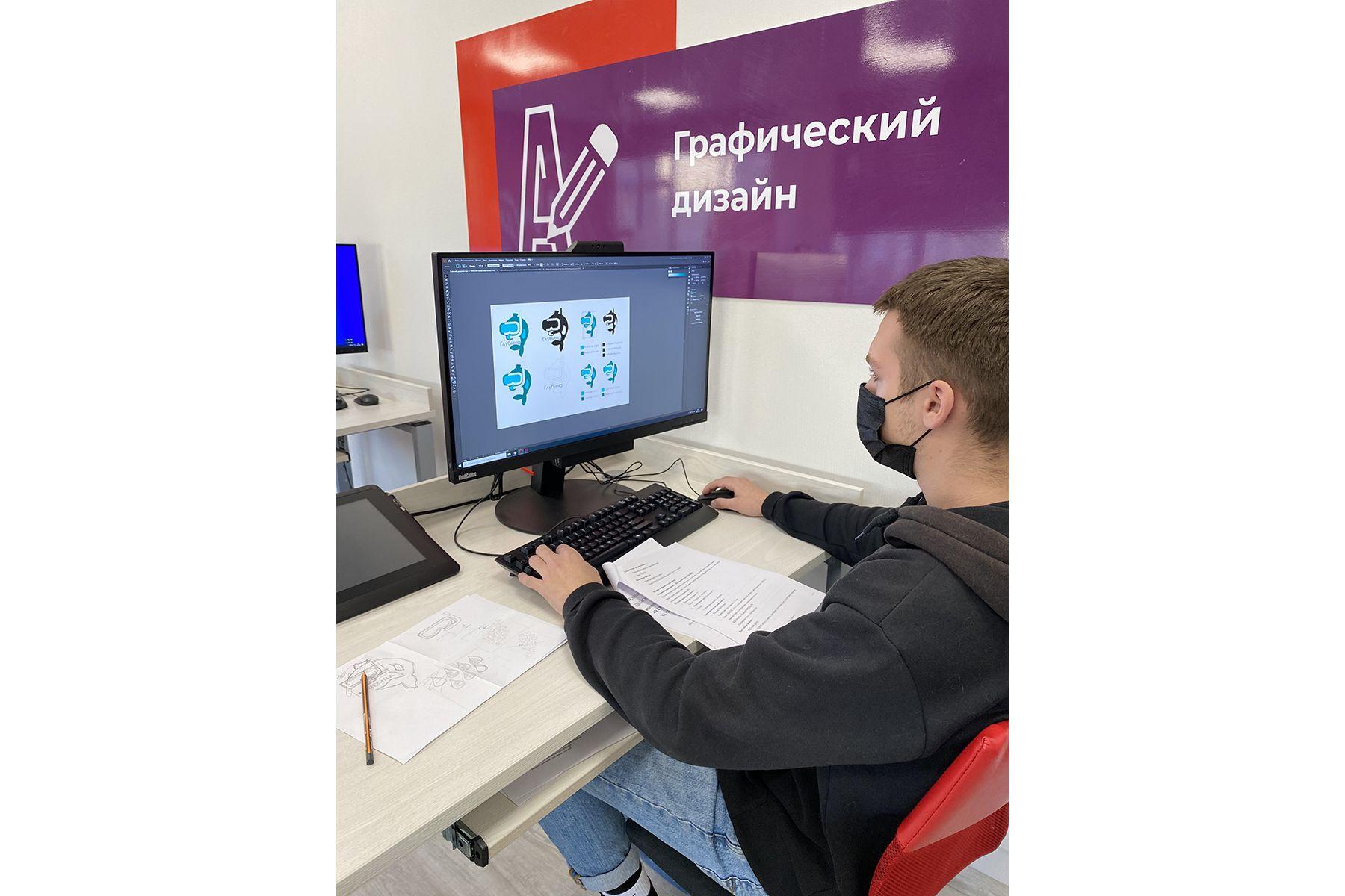От подводных экспедиций до кинофестиваля: студенты ВГУЭС успешно сдали демонстрационный экзамен по стандартам WorldSkills по компетенции «Графический дизайн»