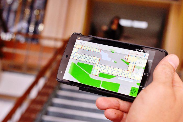 Ориентироваться во ВГУЭС помогает мобильное приложение Nav-In