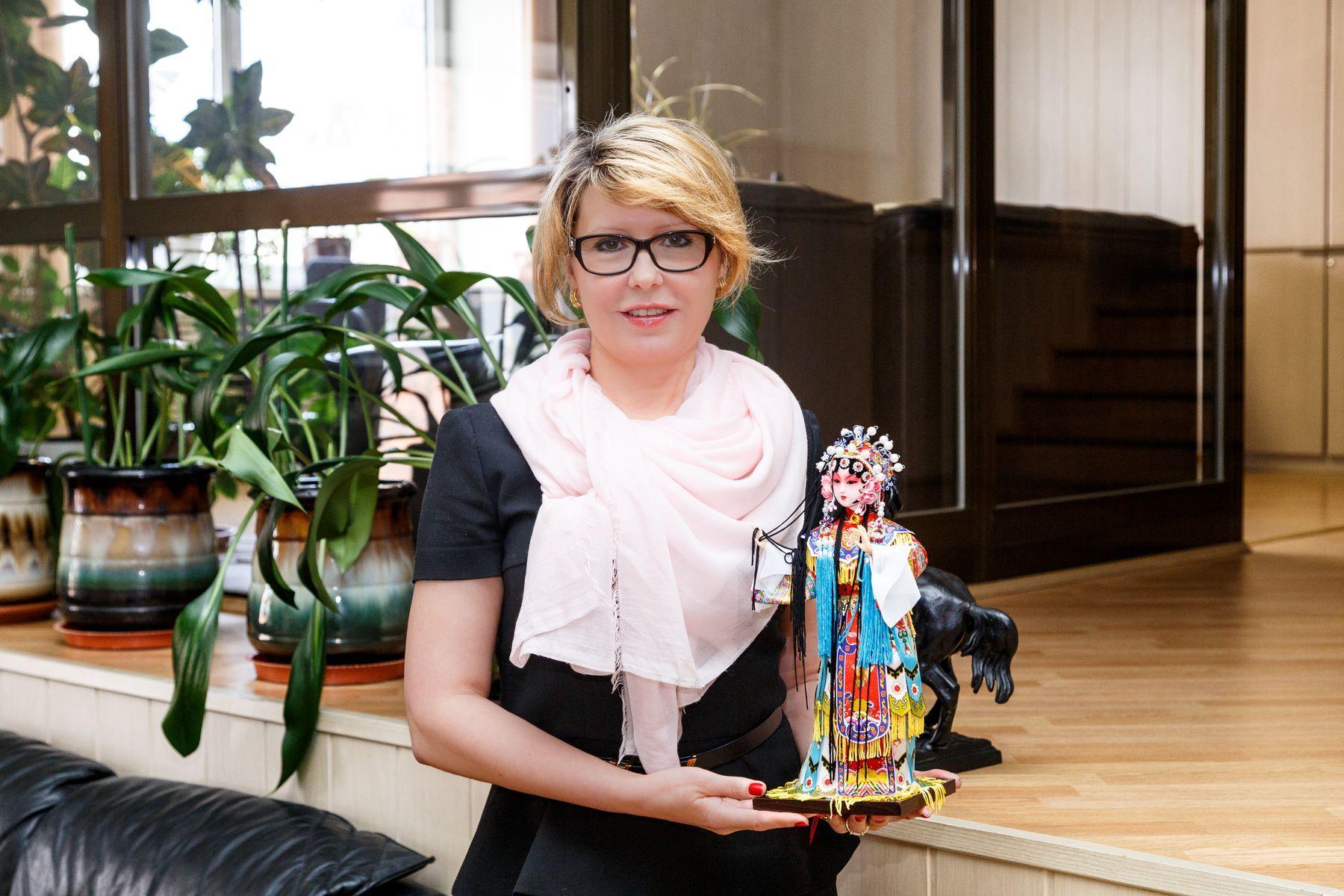 Ректор ВГУЭС Татьяна Терентьева встретилась с организаторами знаменитой Недели моды в Китае
