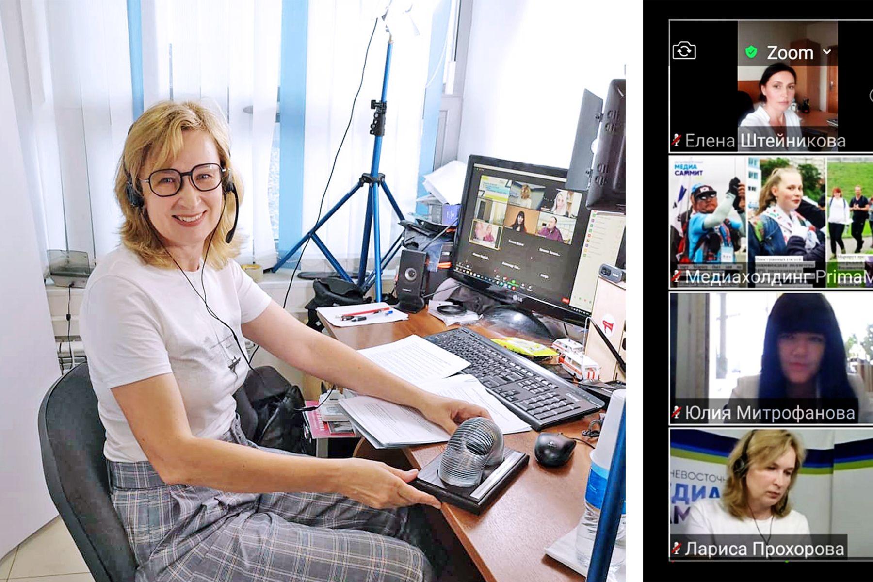 Перспективы медиаобразования в регионе и традиционный конкурс PR служб: ВГУЭС принимает активное участие в 7 Дальневосточном Медиасаммите