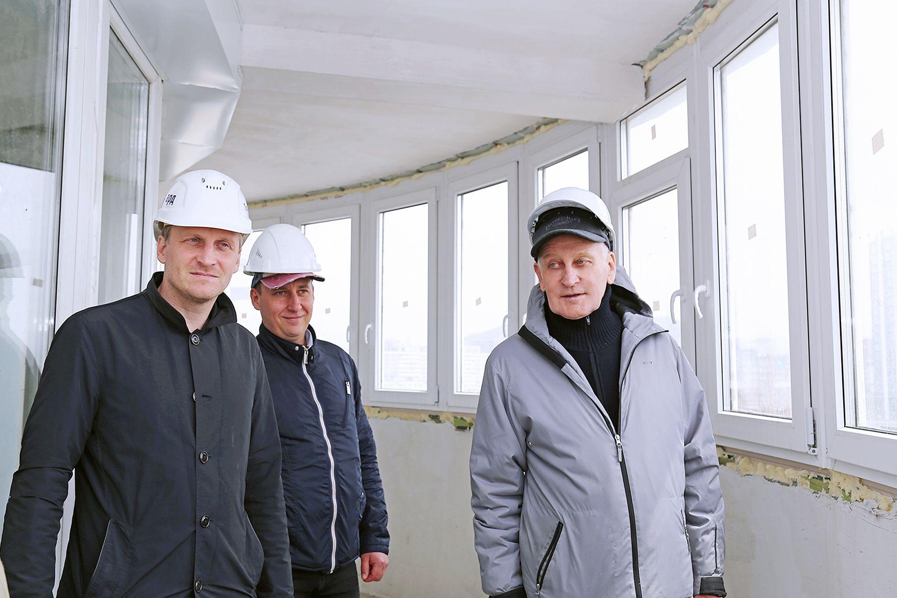 Пространство и свет: в новом доме ВГУЭС уже можно оценить конструктивные решения квартир и качество отделки