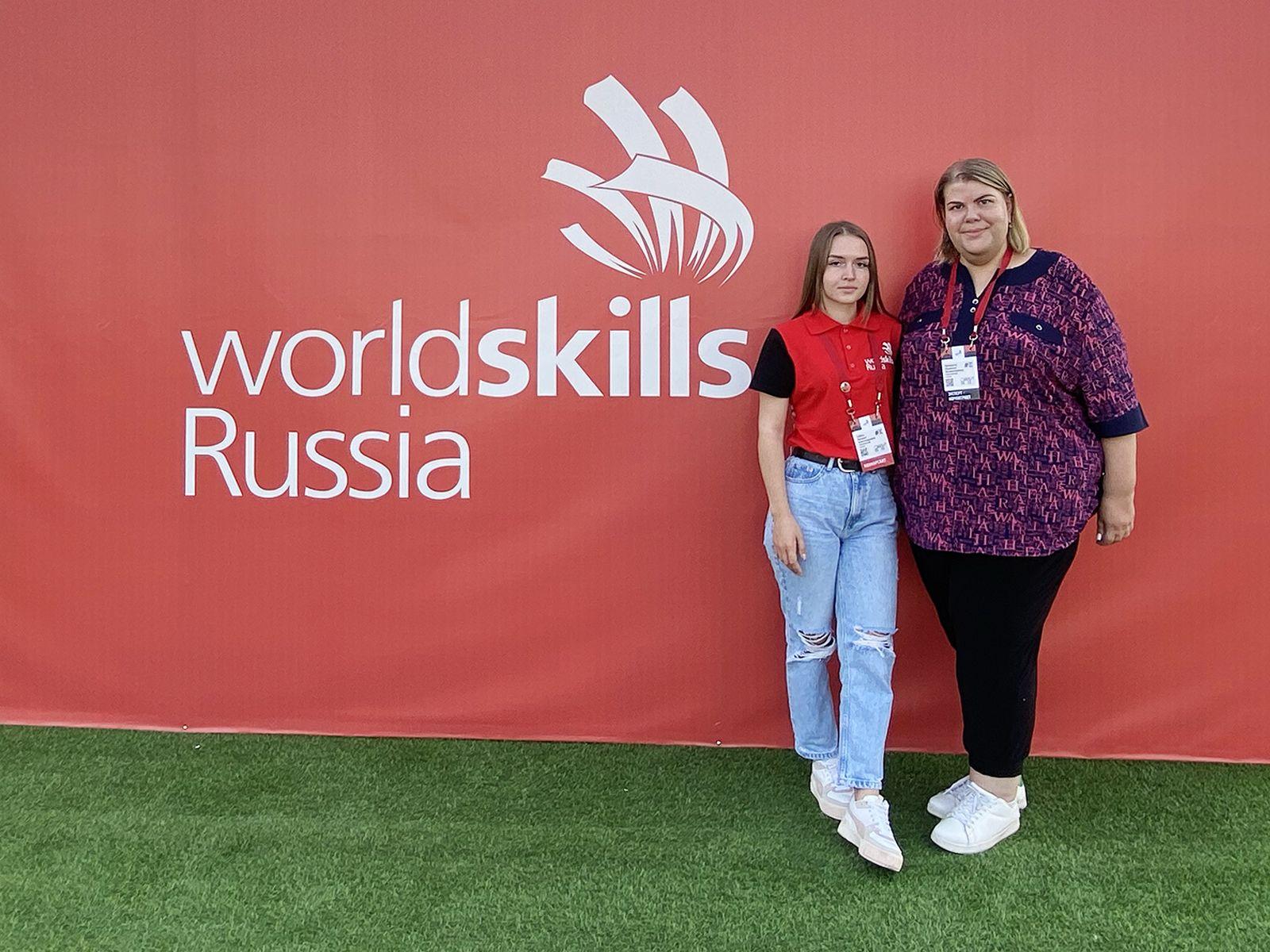 Студентка ВГУЭС получила медальон за профессионализм на Национальном чемпионате «Молодые профессионалы»