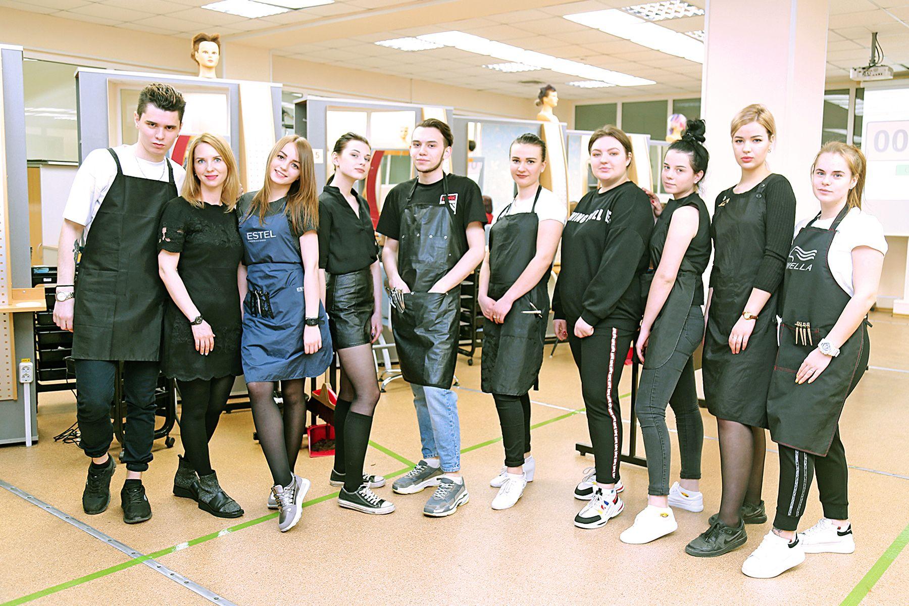 Демоэкзамен завершён. Студенты Колледжа индустрии моды и красоты ВГУЭС подтвердили свою квалификацию