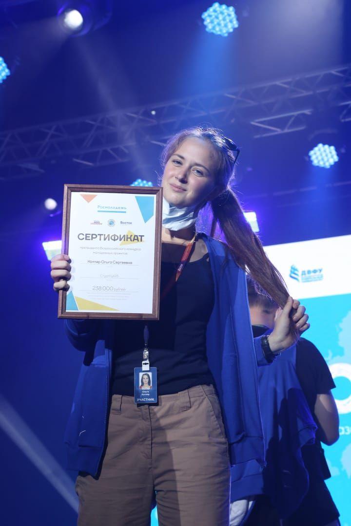 Ольга Котляр - победитель грантового конкурса форума