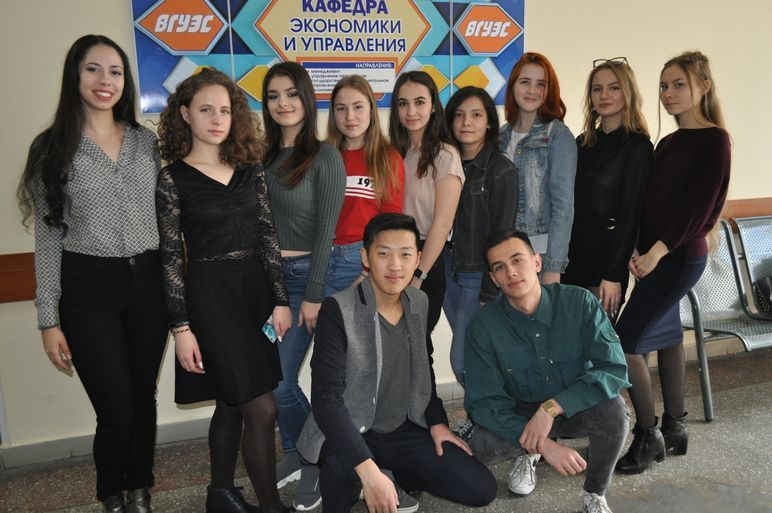 Студенты кафедры - победители конкурса на финансирование проектов в сфере молодежной политики ВГУЭС
